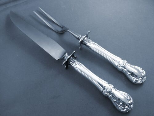 OLD MASTER-TOWLE STERLING 2PC STEAK CARVING SET/ AS IS BLADE