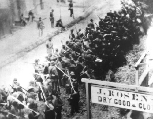 Confederate soldiers marching through Frederick Md - 8x10 Civil War Photo 1862Photographs - 165591