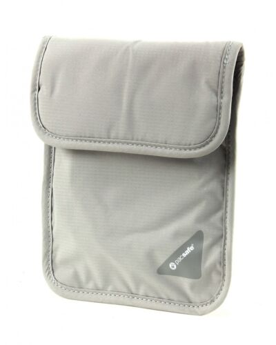 pacsafe Borsa Coversafe X75 RFID Blocking Neck Pouch Neutral Grey