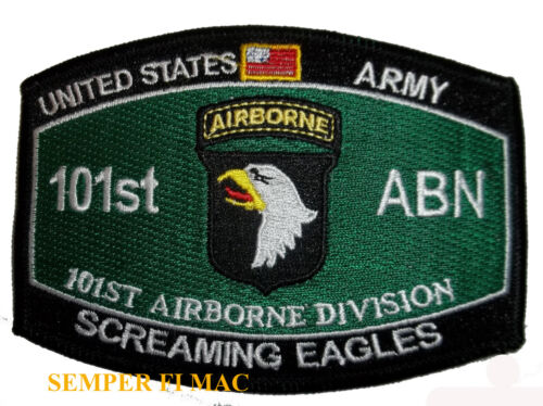 101ST AIRBORNE DIVISION HAT PATCH US ARMY AIR ASSAULT FORT CAMPBELL PIN UP GIFTArmy - 66529