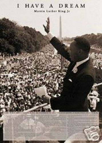 MARTIN LUTHER KING JR NEW 24X36 POSTER COLLECTOR PRINT