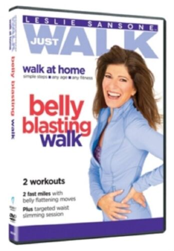 Leslie Sansone Belly Blasting Walk New Region 4 DVD