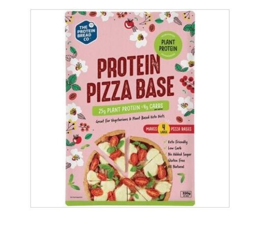 3 x 320g THE PROTEIN BREAD CO. Protein Pizza Base Plant Protein