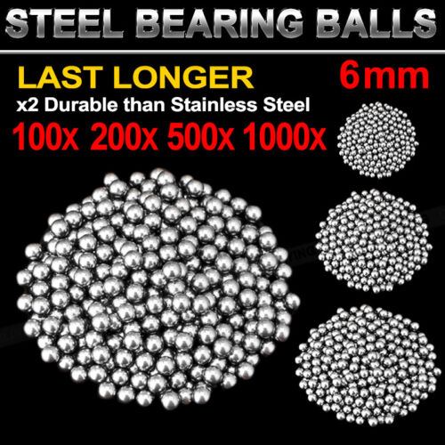 Replacement Parts 6mm Bike Bicycle Carbon Steel Loose Bearing Ball