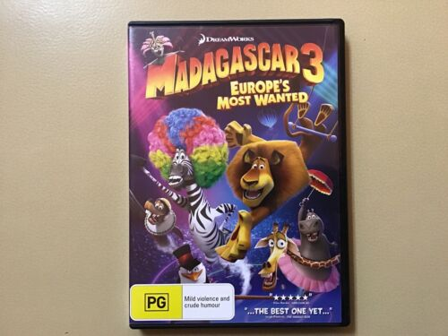 DVD, Madagascar 3, Europe's Most Wanted (D)