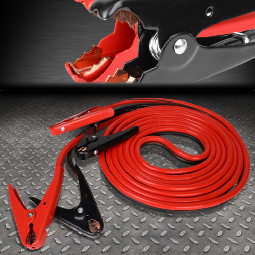 HEAVY DUTY 2 GAUGE 20 FT BATTERY BOOSTER CABLE EMERGENCY POWER JUMPER 600 AMP <br/> Top Seller, Product & Service! Fast & Easy Shipping!