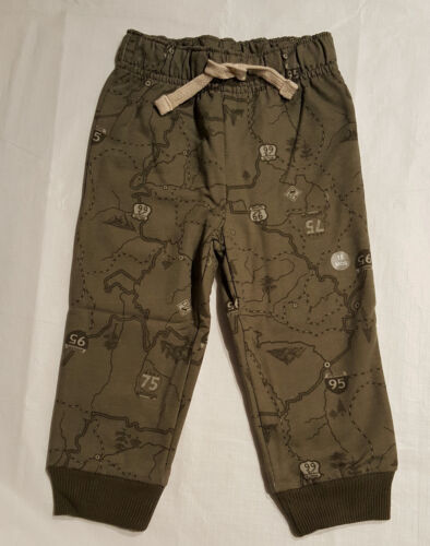 Boys Infant & Toddler Jogger Sweat Pants: 12M-18M-2T-3T-4T-5T