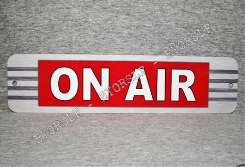 Metal Sign ON AIR radio show station broadcast live television journalism #2