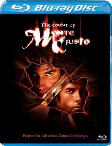 The Count of Monte Cristo (Guy Pearce Richard Harris) New Region B Blu-ray