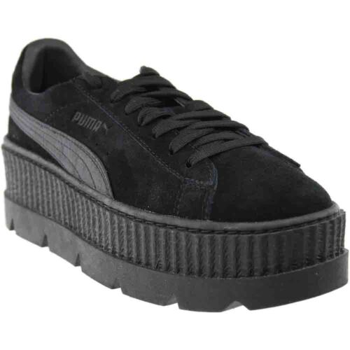 Puma Fenty by Rihanna Suede Cleated Creeper Sneakers - Black - Womens