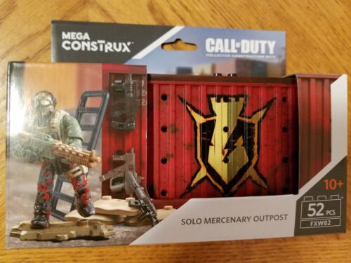 Mega Construx Call Of Duty Solo Mercenary Outpost Armory Construction Set New!