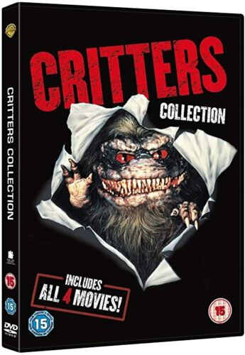 Critters Collection 1 2 3 4  One Two Three Four New Critter Region 4 DVD