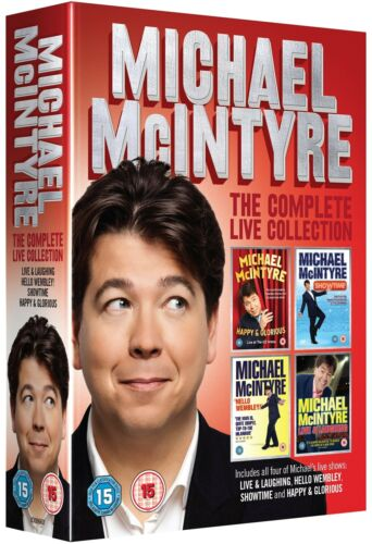 Michael McIntyre The Complete Live Collection New Region 4 DVD Box Set