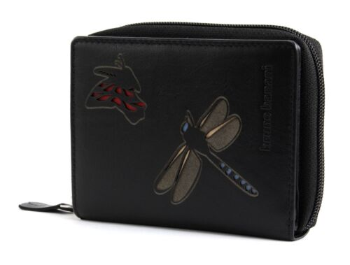 bruno banani Insect Wallet with Zip Black