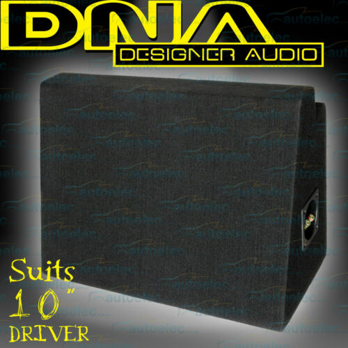 """Dna Sealed 10"""" Or 12"""" Slim Line Subwoofer Sub Box Enclosure New Car Boot Asc003A"""