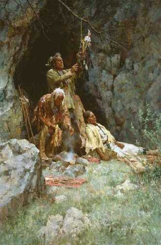 Howard TERPNING The Healing Power of the Raven Bundle Signed Numbered art print