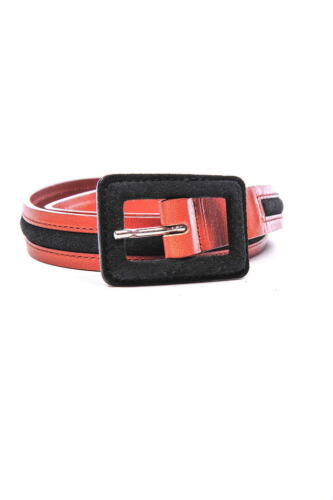 Cintura Armani Jeans AJ Belt Pelle MADE IN ITALY Donna Marrone B5121A7 Cam 7J
