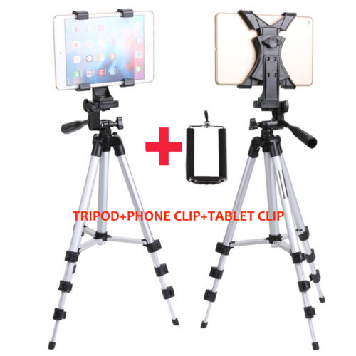 Professional Tripod Stand+Phone Mount+Universal Holder for iPad 2/3/4 Air iPhone