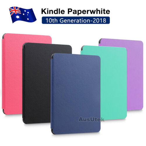 Flip Leather Folio Case Cover Magnetic For Amazon KINDLE Paperwhite 10th 2018