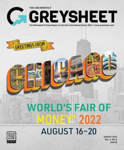 Monthly Greysheet Magazine- Single Edition- Current Month <br/> U.S. Wholesale Coin Pricing * New Magazine Format