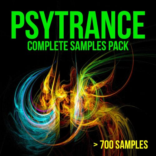 Psytrance Complete Samples Pack - Library, Sounds, Synths, Vocals, Drum Loops