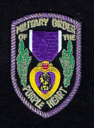 MILITARY ORDER OF THE PURPLE HEART HAT PATCH COMBAT WOUNDED PIN UP US MILITARYOther Militaria (Date Unknown) - 66534