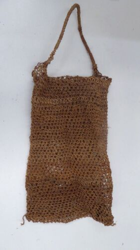ANTIQUE HAND WOVEN ABORIGINAL DILLY BAG