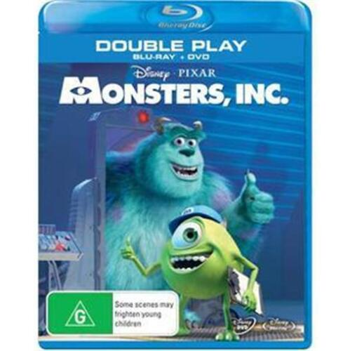 MONSTERS, INC. : NEW Blu-Ray