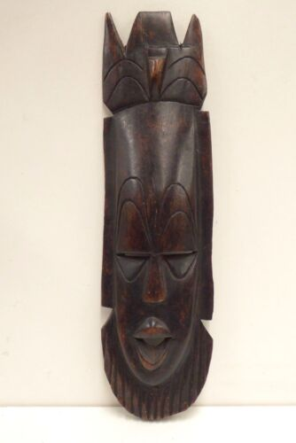 VINTAGE AFRICAN WOODEN CARVED MASK