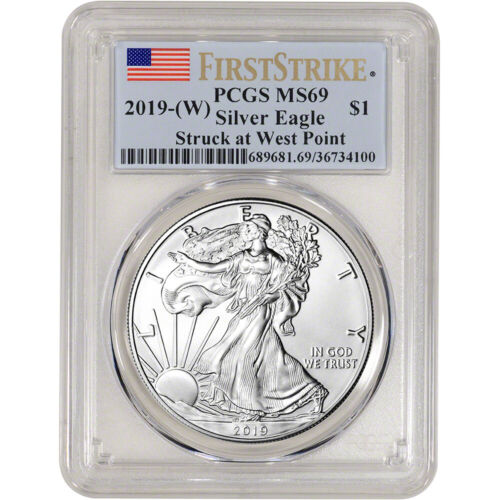 2019-(W) American Silver Eagle - PCGS MS69 - First Strike
