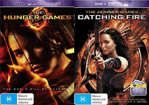 The Hunger Games 1 - 2 : NEW DVD