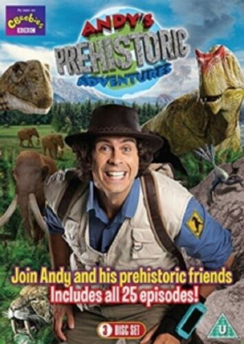 Andy's Prehistoric Adventures Season 1 Series One First Andys New Region 4 DVD