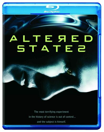 ALTERED STATES (William Hurt, Blair Brown, Bob Balaban) New Region B Blu-ray