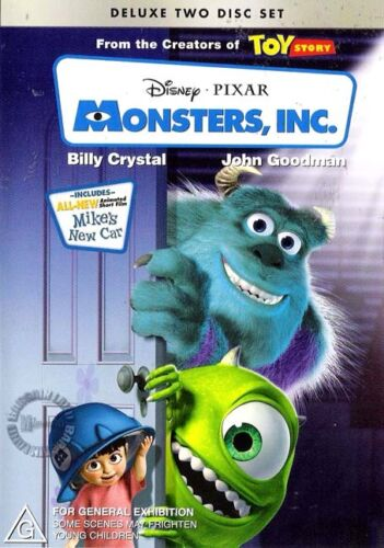 Monsters, Inc. (2-DVD, 2002) : NEW