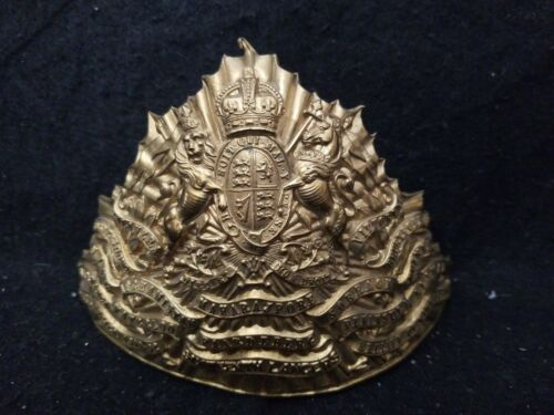 Trooper officer Czapka of the 16th The Queen's Lancers Regiment lance cap badge Original Period Items - 4070