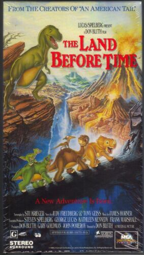 The Land Before Time VHS 1994 Lucas Spielberg Don Bluth Pc