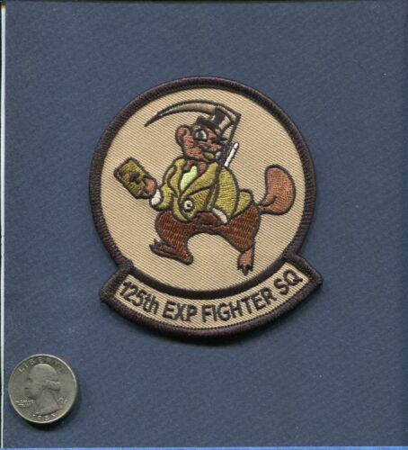 125th EFS OKLAHOMA AIR GUARD USAF F-16 FALCON Desert Squadron PatchAir Force - 48823