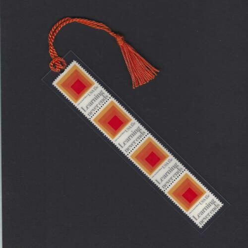 """Josef Albers """"Homage to the Square"""" - Stamps Bookmark Unique!"""