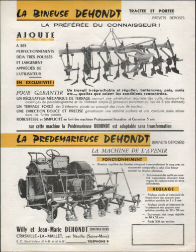 CRASVILLE-LA-MALLET (76) USINE MACHINES AGRICOLES / DECOLLETEUSE