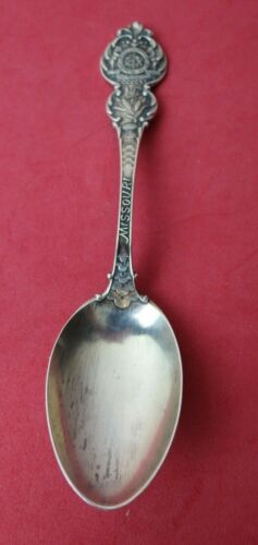 """State of Missouri Sterling Silver Souvenir Spoon by Watson & Newell 5"""""""