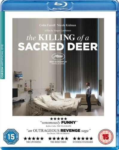 The Killing of a Sacred Deer (Colin Farrell, Nicole Kidman) New Region B Blu-ray