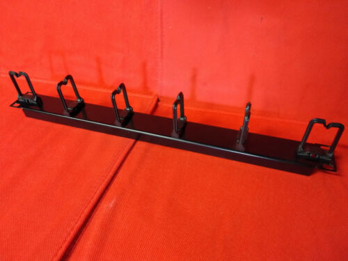 1RU Cable Management Rack - 6 Hooks 19inch