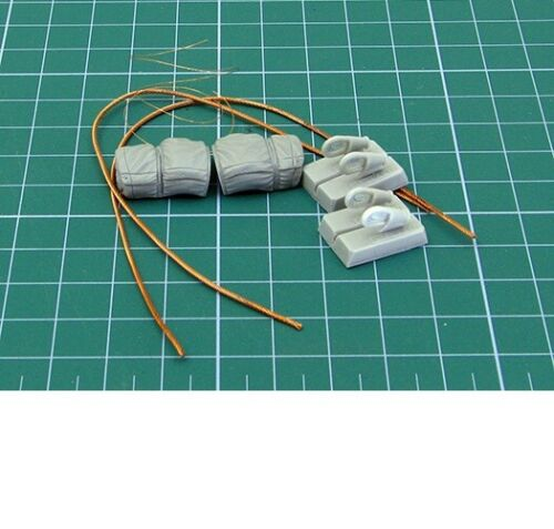 Eureka XXL 1/35 Soviet T-55 Towing Cables for MiniArt kits