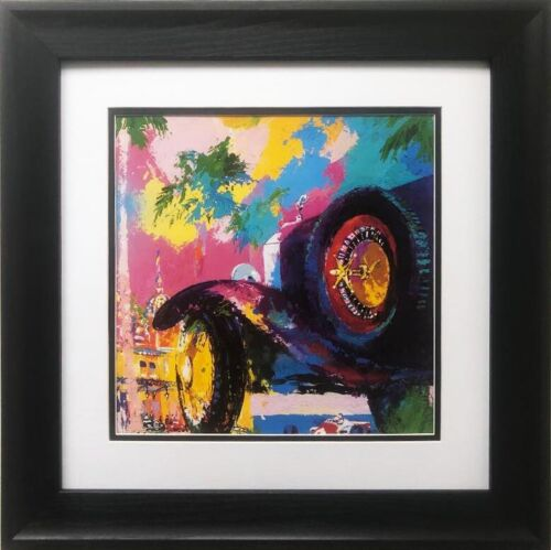 """LeRoy Neiman """"Monte Carlo """" FRAMED New Art Print French Riviera Car Roulette"""