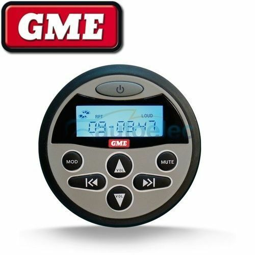 GME RCU9200 Wired Remote Control suit GR9200 Series Stereos Marine Waterproof