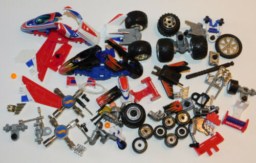 LOT Hot Wheels PIECES PARTS jouet voiture CAR AVION ROBOT ROUE outils TOOL key
