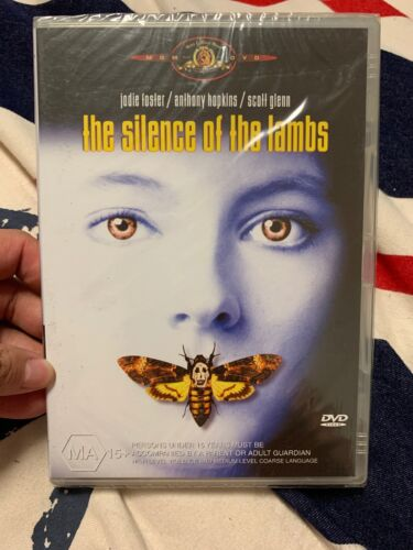💕THE SILENCE OF THE LAMBS - DVD Region 4 - Anthony Hopkins Jodie Foster New💕