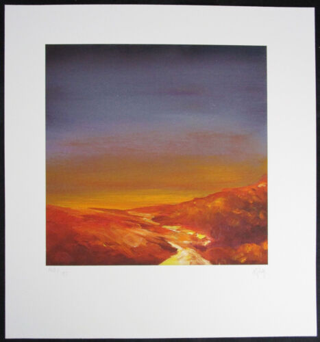 Terry DONNELLY Original Giclee, Evening Sky I, Signed Numbered