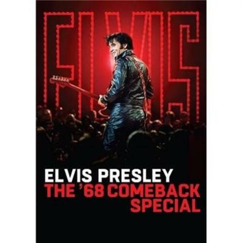 ELVIS PRESLEY - The '68 Comeback Special + 2 LIMITED SOUVENIER COASTERS DVD NEW