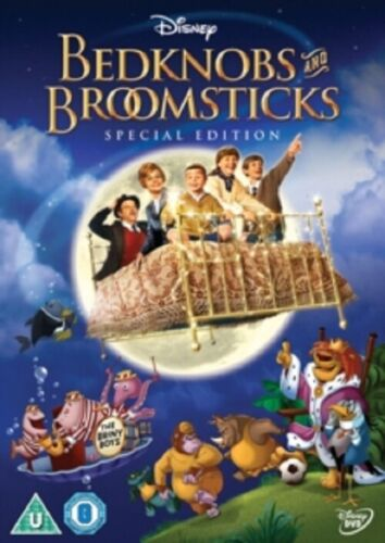 Bedknobs and Broomsticks (Angela Lansbury) & Special Edition New Region 4 DVD